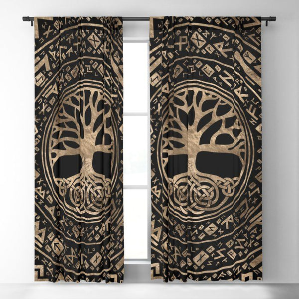 Viking Window Curtain HNCVK0009