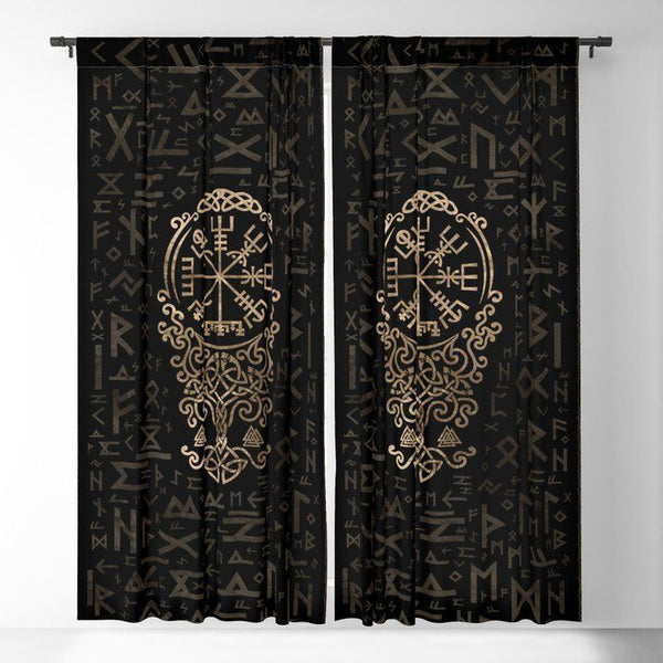 Viking Window Curtain HNCVK0011
