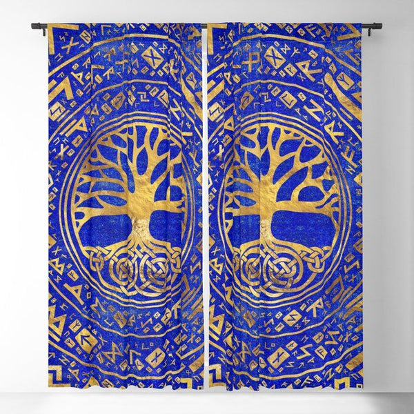 Viking Window Curtain HNCVK0012