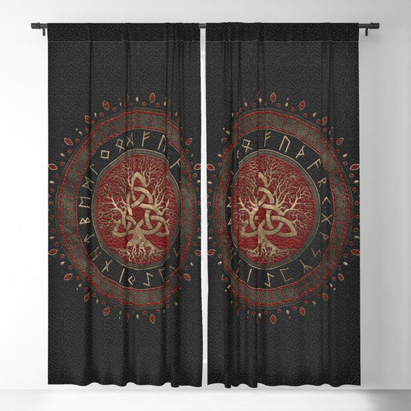 Viking Window Curtain HNCVK0014