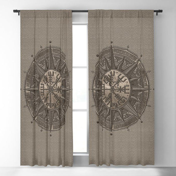 Viking Window Curtain HNCVK0015