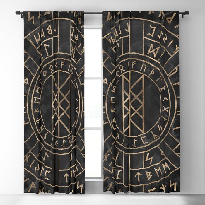 Viking Window Curtain HNCVK0016