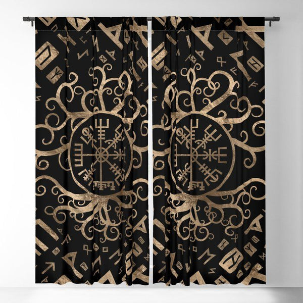 Viking Window Curtain HNCVK0019