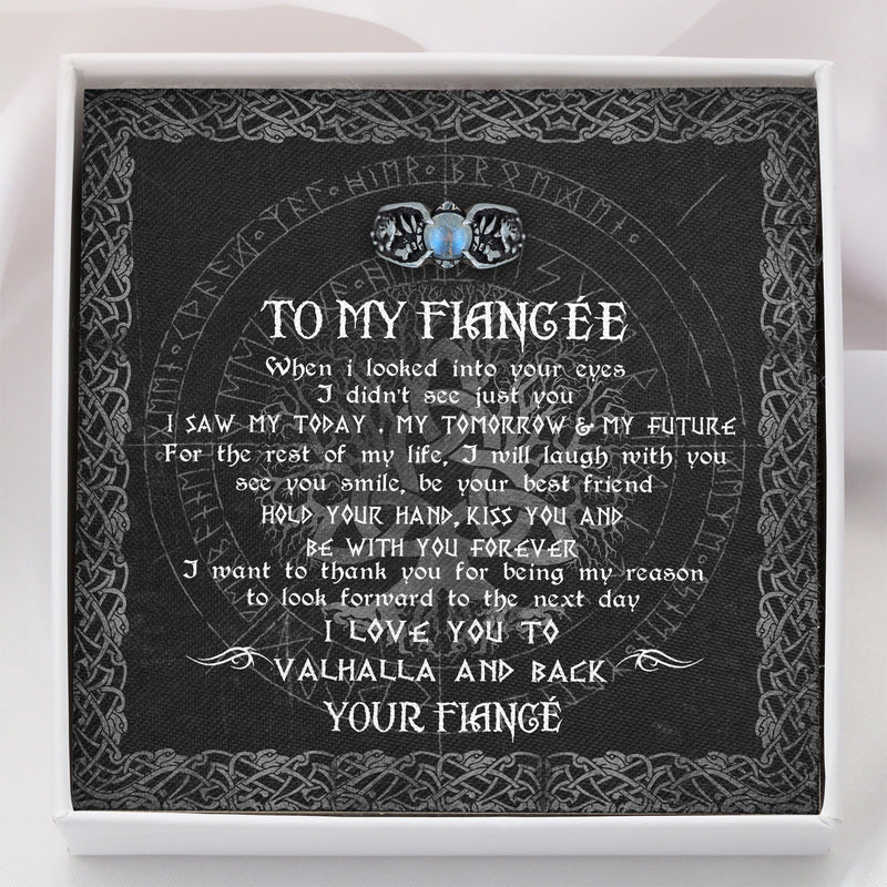 To My Viking Fiancée - Viking Necklace - Message Card - TQNL0111