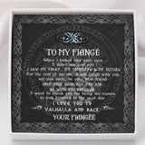 To My Viking Fiancé - Viking Necklace - Message Card - TQNL0110