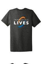 Load image into Gallery viewer, Heating & AC Improving Lives Unisex Triblend Short Sleeve Tee