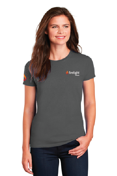 Firelight - Ladies Ultra Cotton® 100% Cotton T-Shirt