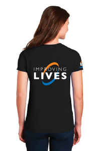 Heating & AC Improving Lives - Ladies Core Blend Tee