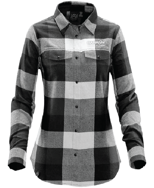 Women's Logan Snap Front Plaid Shirt