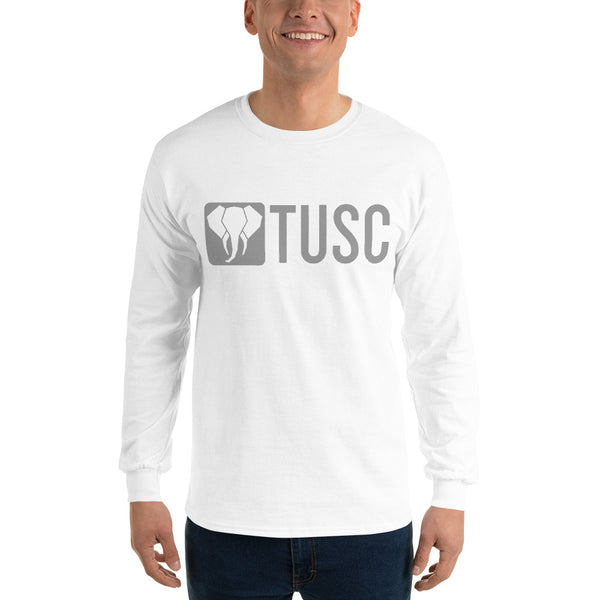 Men's Long Sleeve Shirt - Gray Logo (multiple colors available)