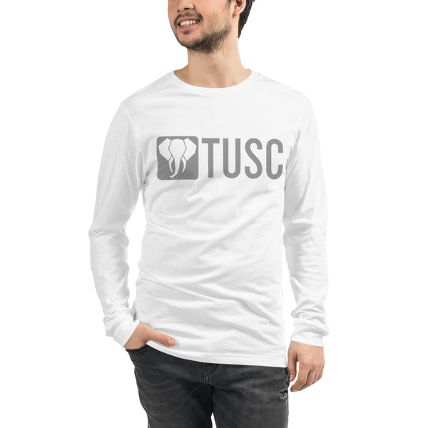 Unisex Long Sleeve Tee - Gray Logo (multiple colors available)