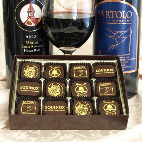 Wine Chocolates From The Santa Cruz Mountains