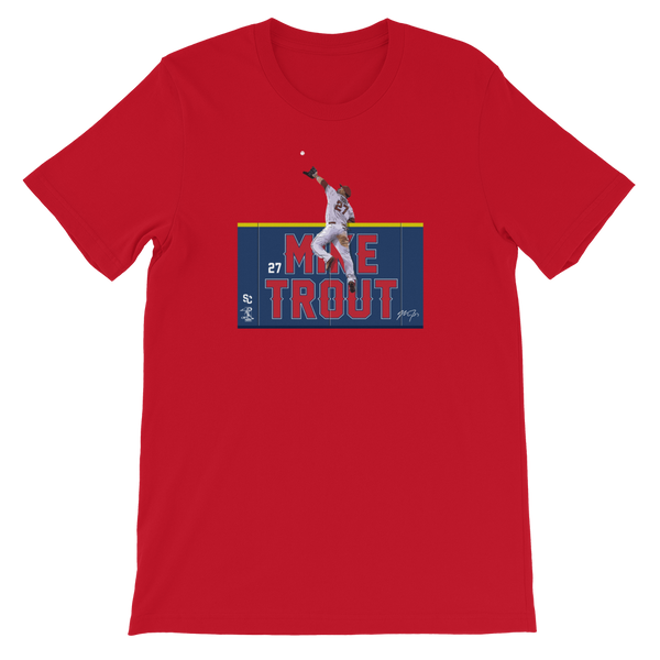 Mike Trout Wall Climb T-Shirt