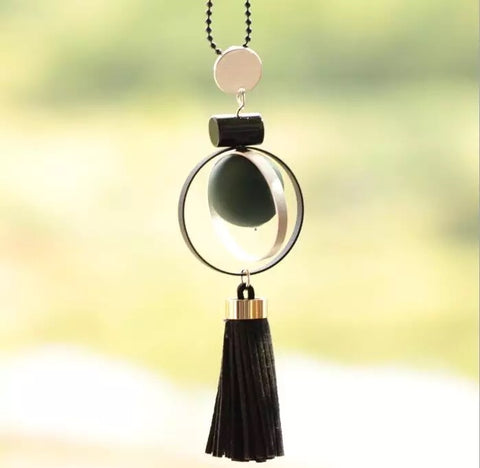 Sphere Plum / Forest Green Matt Necklace