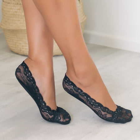 Lace Sockets (Black)