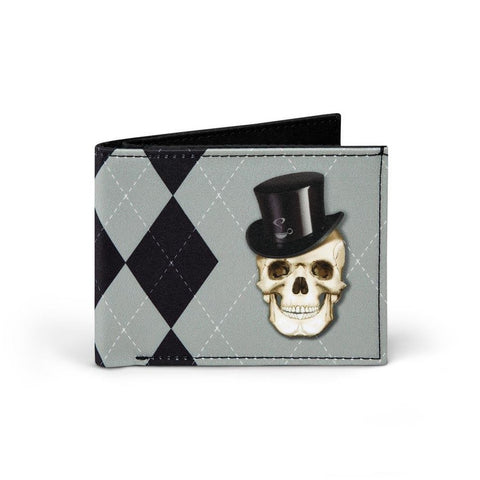 A Gentleman Till Death Mens Wallet