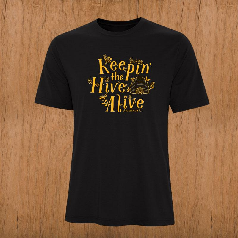 Keepin' the Hive Alive limited-edition Bee shirt