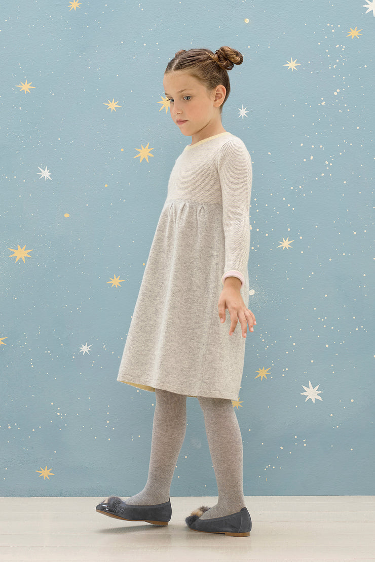 Girl - Maura 100% Cashmere Knitted Dress