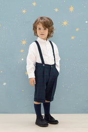 Boy - Noah Wool Shorts With Braces