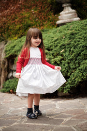 Girl - Cristina Cotton Knee Length Dress