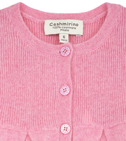 Baby Girl - Neni Cashmere Cardigan With Gathered Waist