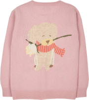 Girl - Edelweiss 100% Cashmere Crew Neck Cardigan