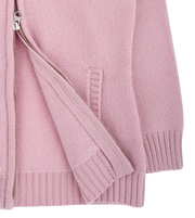 Girl - Cashmere Cardigan Hoodie