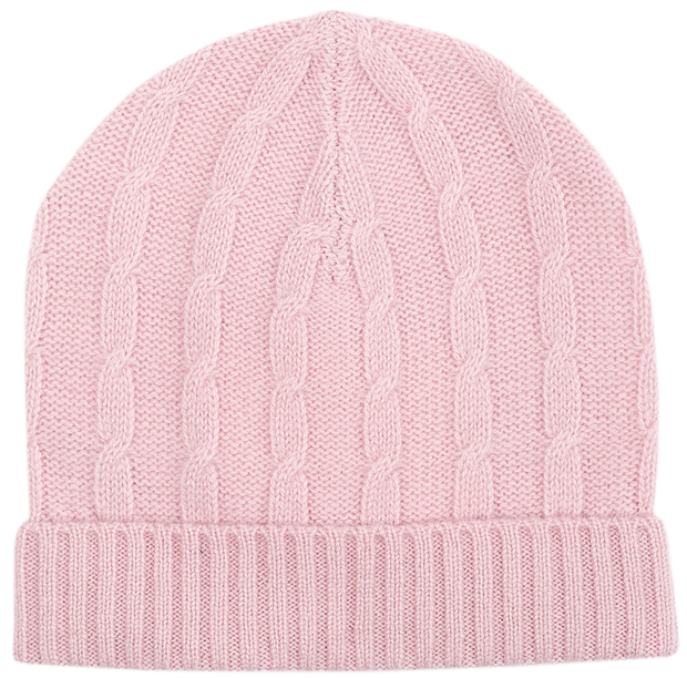 Baby Girl - Peyton Cashmere Cable Knit Hat