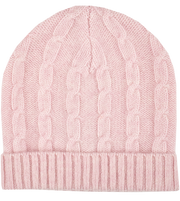 Baby Girl - Peyton 100% Cashmere Cable Knit Hat