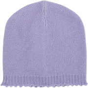 Baby Girl - Riley 100% Cashmere Knitted Hat With Crochet Border