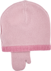 Girl - Paola 100% Cashmere Hat With Mitten Style Ear Flaps