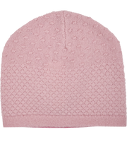 Baby Girl - 100% Cashmere Hat With Gooseberry Stitch