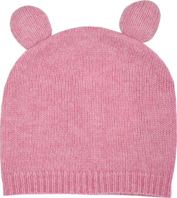 Baby Girl - Teddy Cashmere Teddy Bear Hat