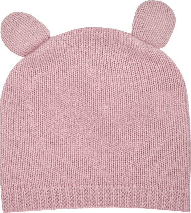 Girl - Teddy Cashmere Teddy Bear Hat