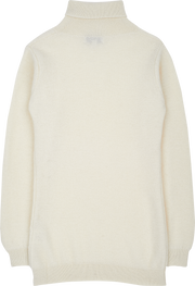 Girl - 100% Cashmere Roll Neck Jumper