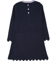 Girl - Merida Cashmere Linen Stitch Dress