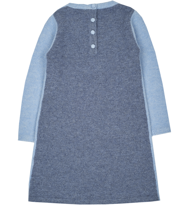 Girl - Maya 100% Cashmere Knee Length Dress
