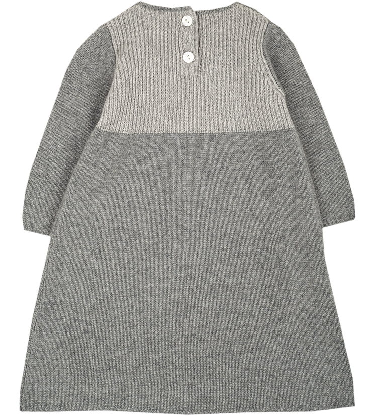 Baby Girl - LFDRES39A Cashmere Midi Dress