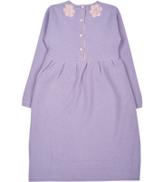 Girl - Rosa Cashmere Tunisian Stitch Dress