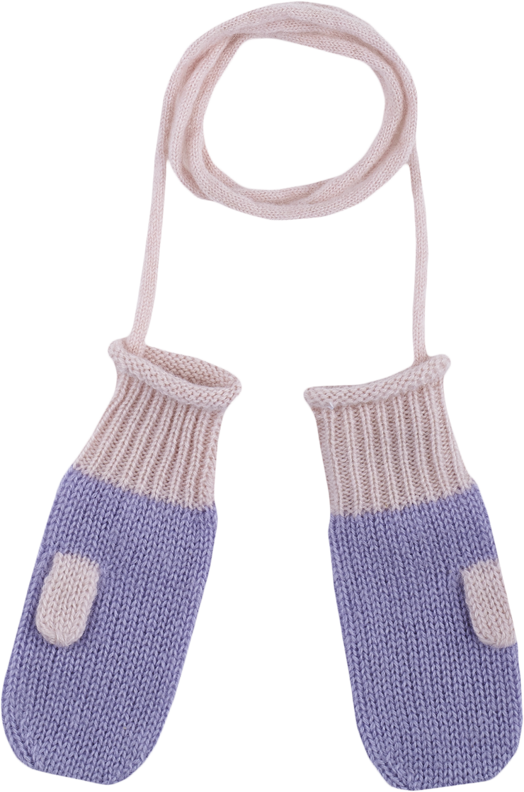 Baby Girl - 100% Cashmere Mittens
