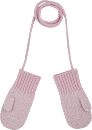 Baby Girl - Taylor Cashmere Linen Stitch Mittens
