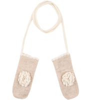 Baby Girl - Clelia 100% Cashmere Mittens