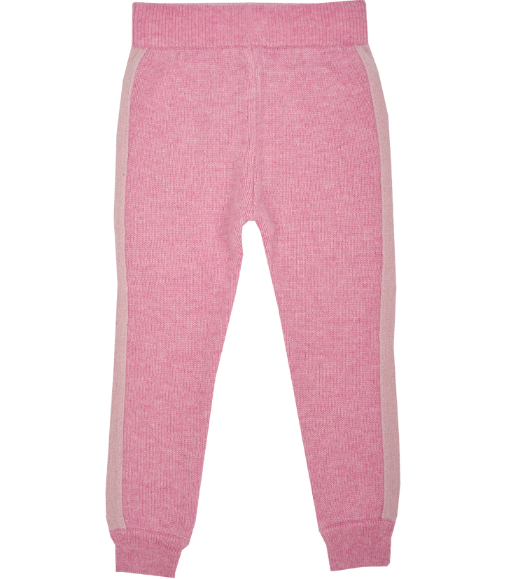Girl - Eleonora Cashmere Joggers With Borders