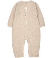 Baby Girl - Clelia Cashmere Romper
