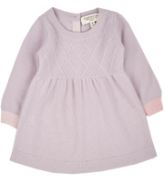 Baby Girl - Diamond and dots set 100% Cashmere Set