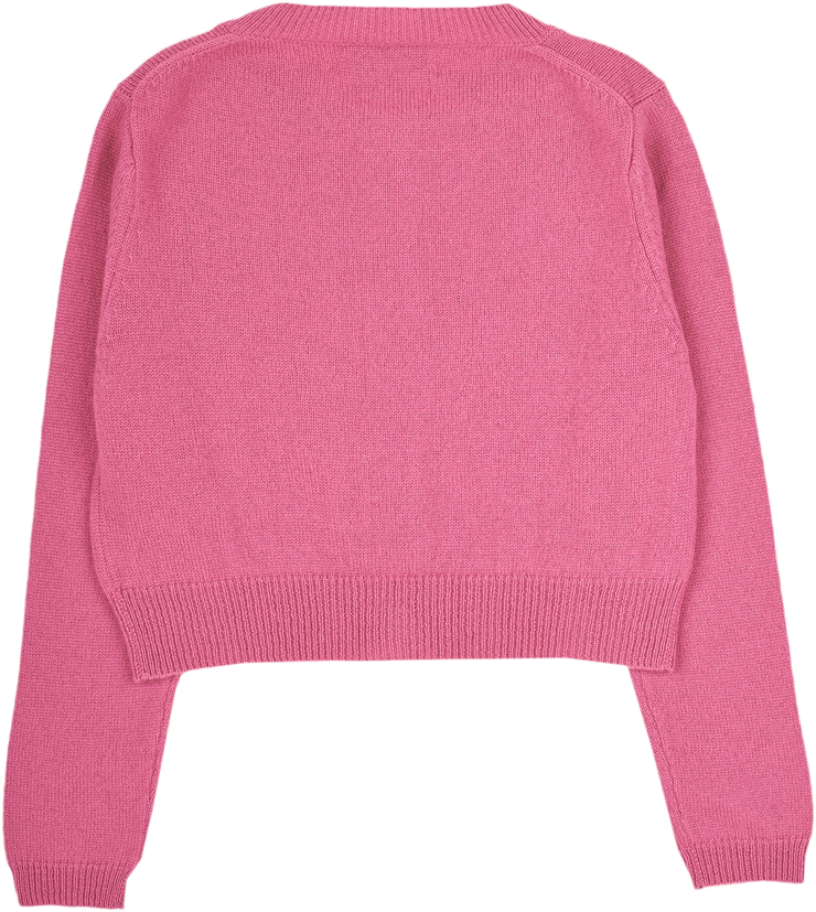 Girl - MFCUOR35 Cashmere Cropped Cardigan