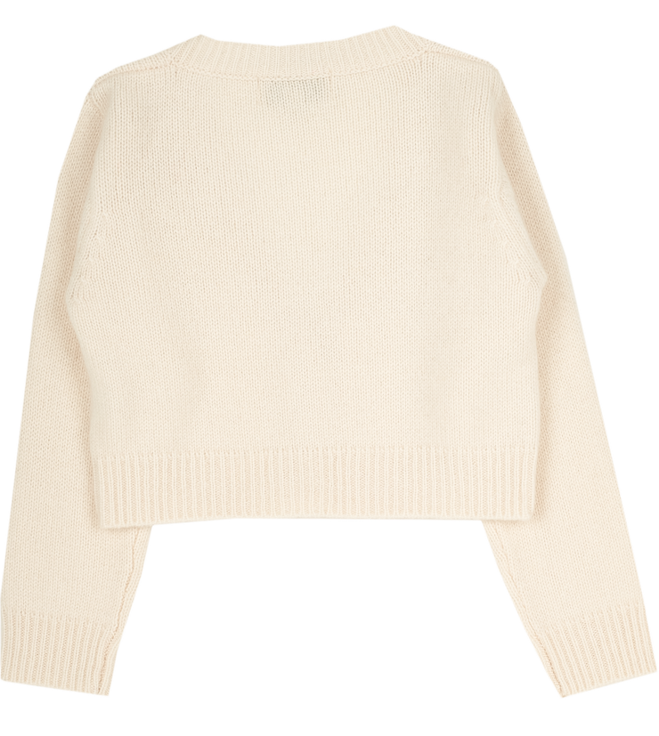 Girl - B-MFCUOR43 Cashmere Cropped Cardigan
