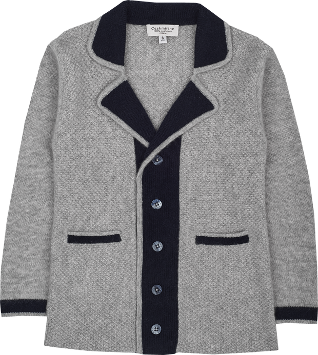 Boy - Cashmere Blazer With Lapels