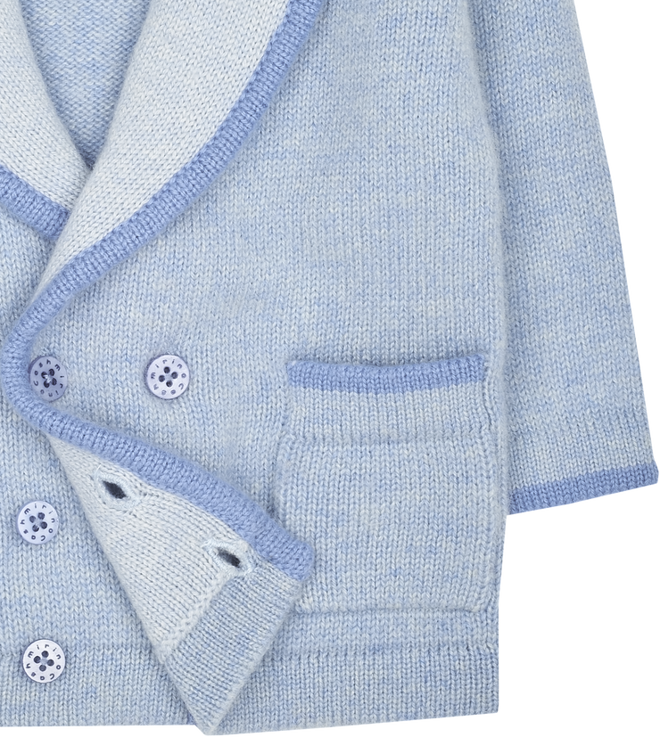 Baby Boy - Nat 100% Cashmere Double Breasted Blazer