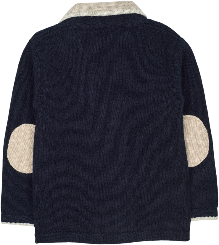 #Navy Blue l Beige